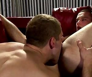 Gay muscle jocks rimming action