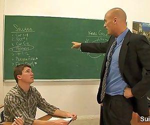 Hot gays fucking in classroomHD