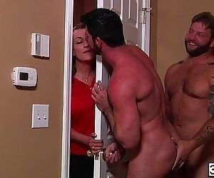Gay lovers Billy Santoro and Colby Jansen enjoys each other cock