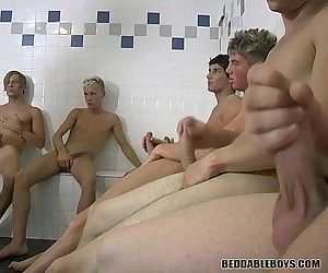 Group Jerkoff Session and More