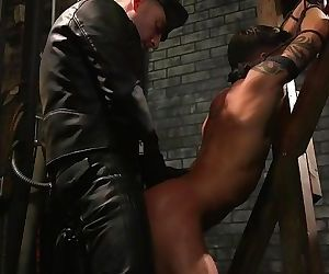 Casey Everett gets the full dom treatment from Sebastian Keys