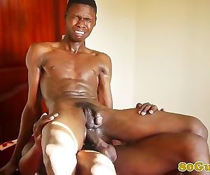 Barebacking african assfucks amateur stud