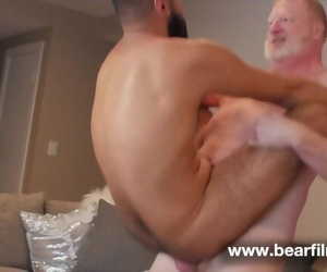 Ginger Daddy Fucks Hairy Boy