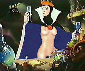 Snow white porn cartoons - part..