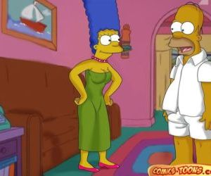 The Simpsons- Lustful Homer and..