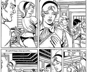 Hardcore comic fucking for blonde..
