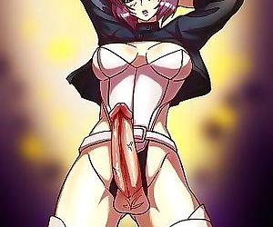 Anime shemale comics - part 2