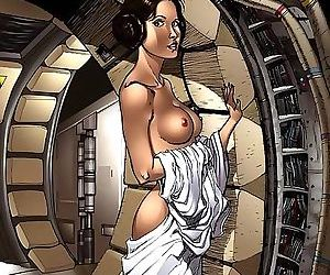 Star wars porn cartoons - part 1427
