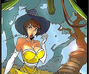 Witch in disguise gets shagged -..