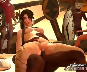 Lara Croft Getting Fucked..