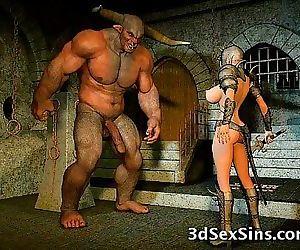 Aliens Fuck 3D Babes! 3 min