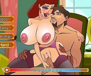 Hentai sex game Fucking the..