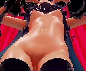 3D MMD Hatsune Miku in ME!ME!ME!