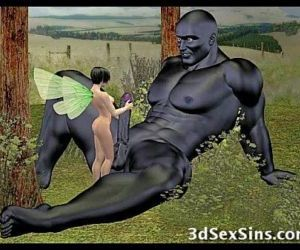Demons Fucking 3D Babes! - 3 min