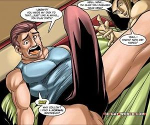 Flamboyant Four Gay Superhero..