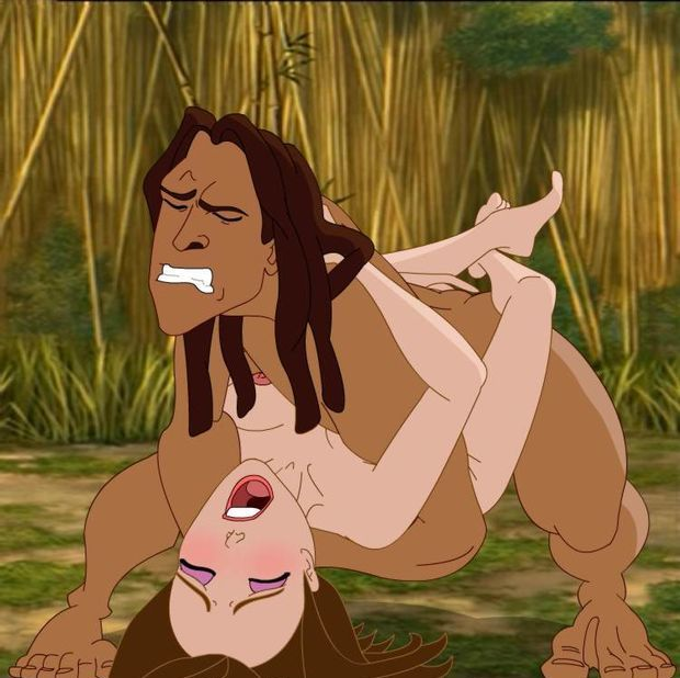 Tarzan and Jane 6/6