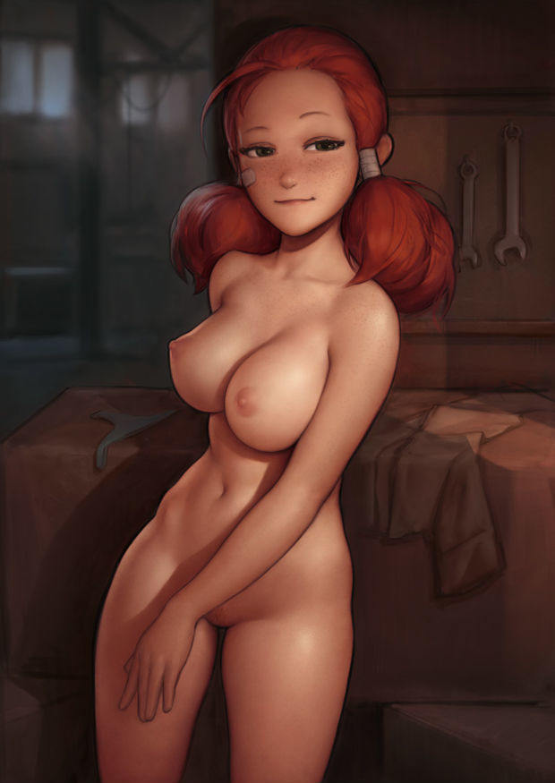Dirty little redhead
