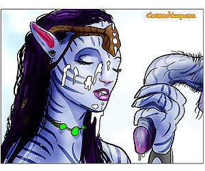 Avatar aliens show us how they enjoy sex - part 3703