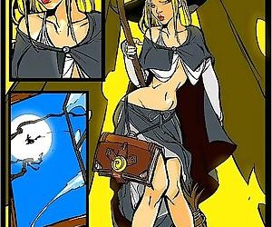 Stacked witch giving sloppy blowjob - part 3452