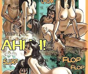 Girl sharing cock in the hottest sex comics - part 2524