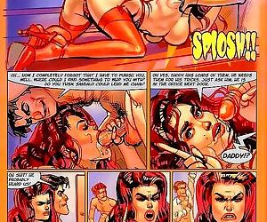 Sexy beauty gets pussy licked in hot adult comics - part..