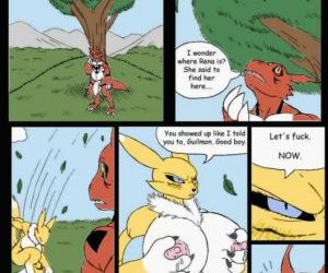Pent Up - A Digimon Smut Comic