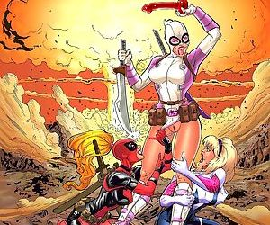 Tracy Scops- Gwenpool- Radioactive Chimichanga