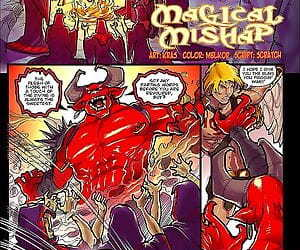 Magical Mishap- Mana World