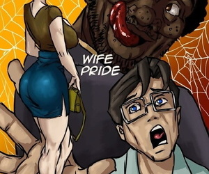 Illustratedinterracial- Wife Pride