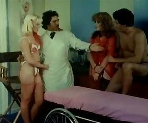 Lisa Deleeuw Danielle Rodgers and Ron Jeremy in doctor surgery role play