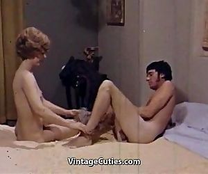 Lady Teaching Sex a Virgin Man