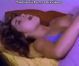 Christy Canyon, Pamela Jennings, Stacey Donovan in vintage xxx scene