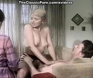 Juliet Anderson, Ron Hudd in hot 80s porn video with double penetration