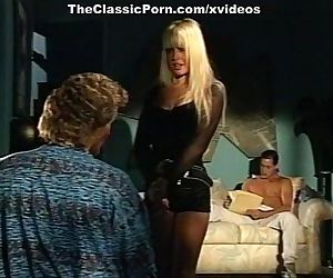 Alexandra Quinn, Carolyn Monroe, Savannah in classic porn video