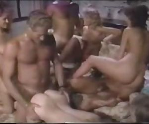 Candy Evans always ready for group sex