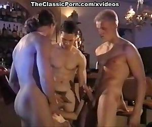 Alicyn Sterling, Angela Summers, David Hughes in vintage xxx video