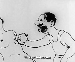 Rough Sex in a Wild Cartoon - 4 min