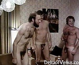 Vintage Euro Porn 1970sInterracial