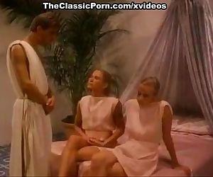 Lysa Thatcher, Tigr, Jon Martin in hot orgy scene from the golden age of porn