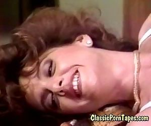 Stunning 70s retro porno