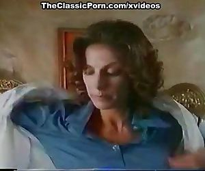 Kay Parker, John Leslie in vintage xxx clip with great sex scene