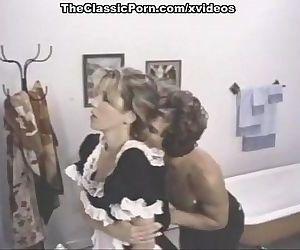 Classic porn scenes in a bathroom