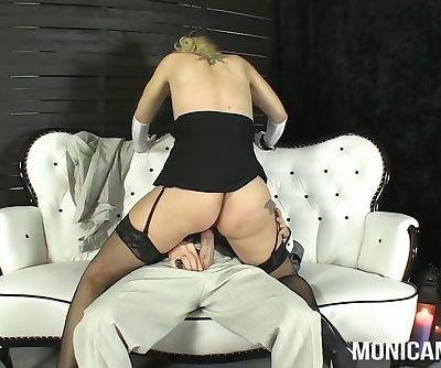 MonicaMilf in a classic 30s porn video - Norsk porno