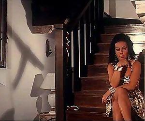 Vintage porn: Rocco Siffredi comforts a pretty brunette