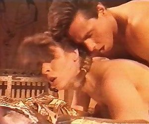 Christy Canyon & Peter North classic fuck