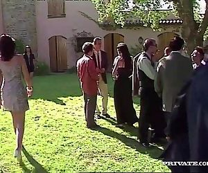 Nikky Andersson Fucks While Two Lesbians are Watching Her