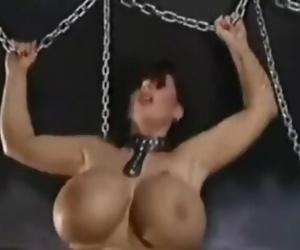 Tiziana Redford sex bizzar with mega boobs