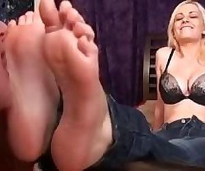 Danielle Trixies Topless Foot Worship