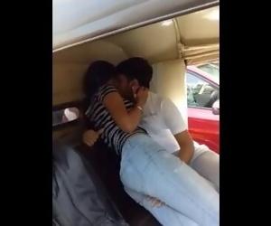 Indian Boy Seduce Girl In Rickshaw