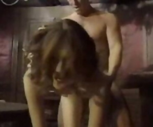 Skinny Anne Howes first penetration in ever hole